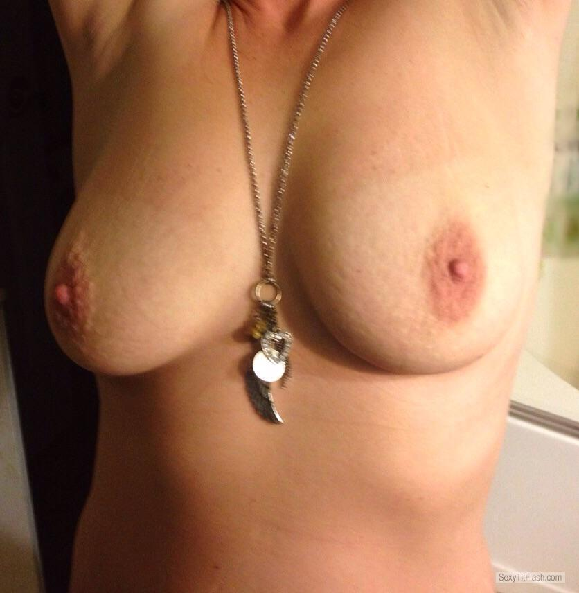 Tit Flash: My Medium Tits - NC Milf from United States